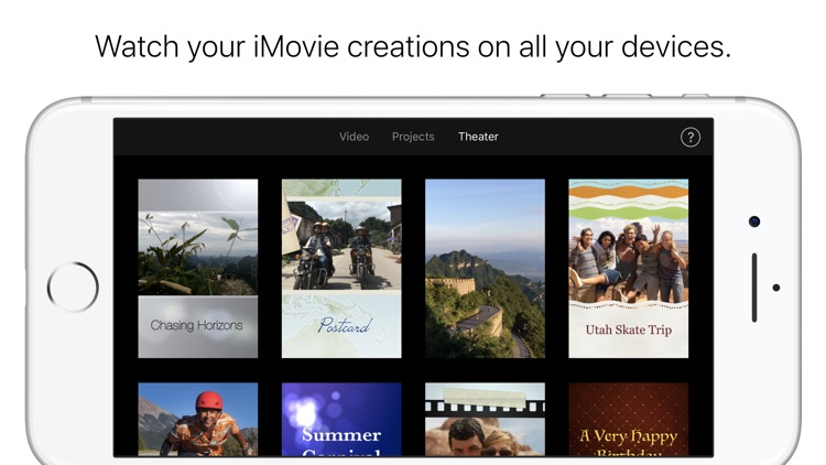 iMovie screenshot-3