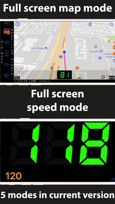 Speedometer 55 GPS Speed & HUD for Windows