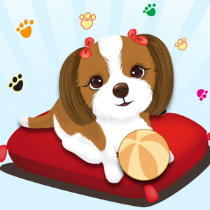 Happy Cute And Fun Puppy Dog Emoji Photo Stickers app