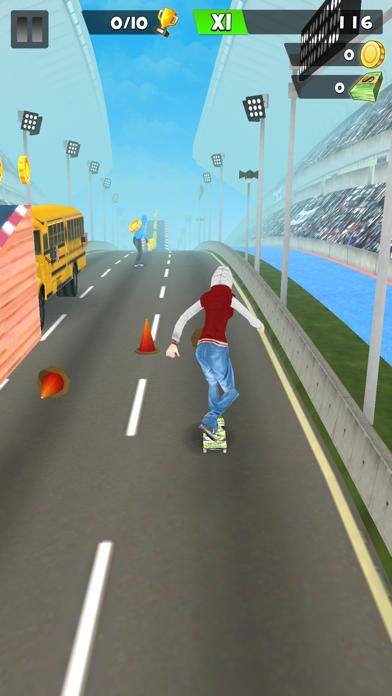 スケートボードワールド: レースシティのおすすめ画像5