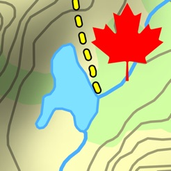 Topo Maps Canada On The App Store - Topo maps app for iphone