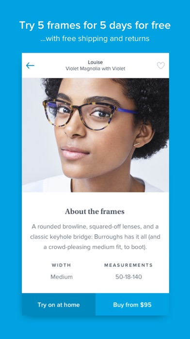 Glasses by Warby Parker by Warby Parker (iOS, United States ...