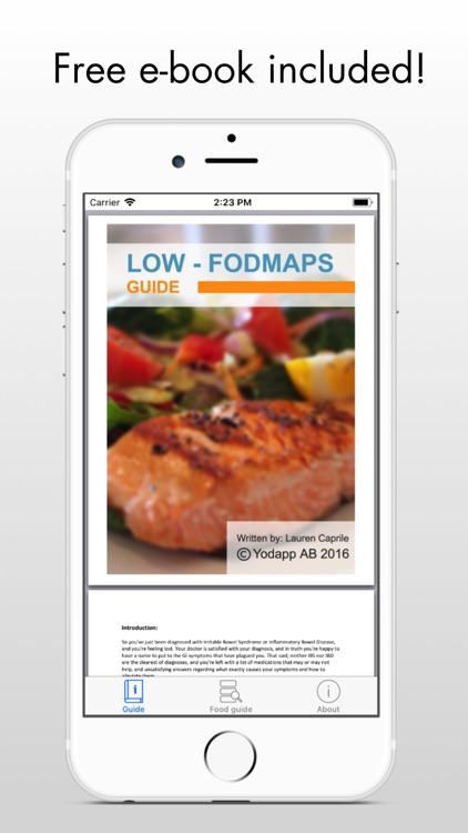 FODMAP - low fodmap ibs diet