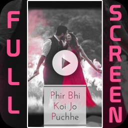 Full Screen Video Status App