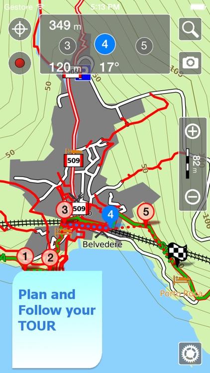 Yosemite NP Hiking Trails GPS screenshot-4