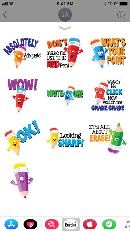 Eureka School Stickers