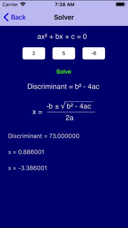Algebra Pro screenshot-5