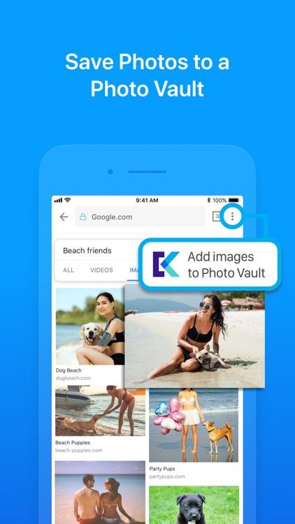 Keepsafe Browser - PIN Locked screenshot-5