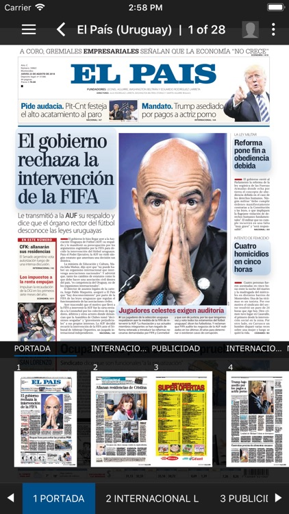 El País Epaper screenshot-2