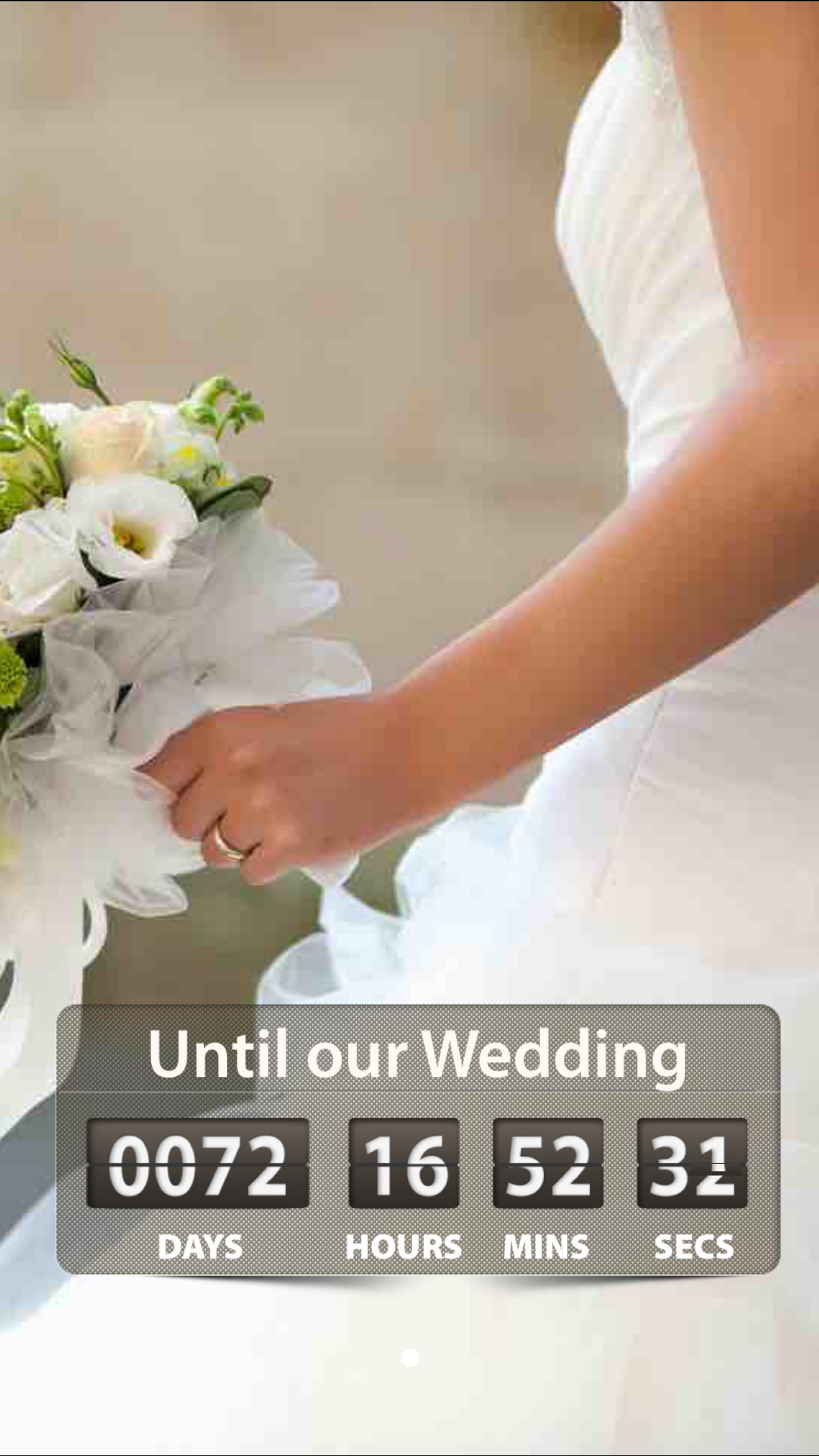 Wedding Countdown ! Screenshot