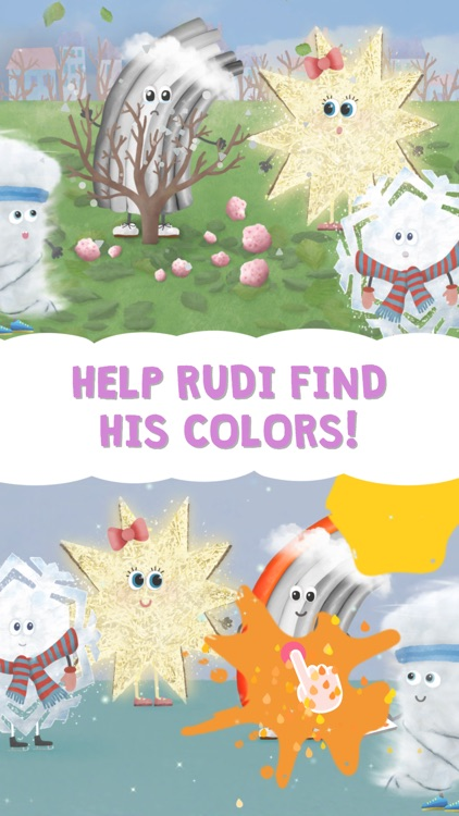Rudi Rainbow – Children's Book
