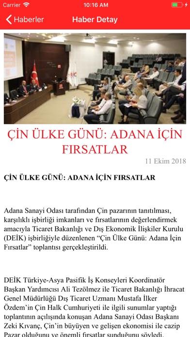 Adana Sanayi Odası screenshot four