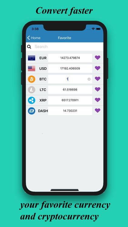Converter Cryptocurrency screenshot-4