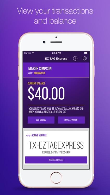 EZ TAG Express screenshot-4