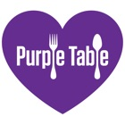 Purple Table Reservations icon