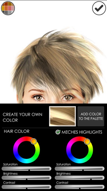 Hairstyle Magic Mirror Lite screenshot-3