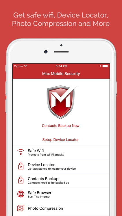 Max Mobile Security screenshot-0