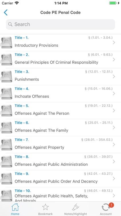 Oklahoma Statutes (OK Laws) screenshot-5