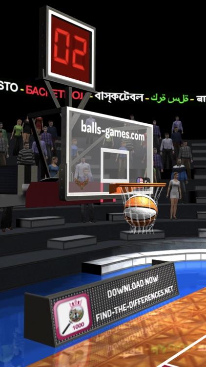 Basketball 3D Shooting Contest screenshot-5