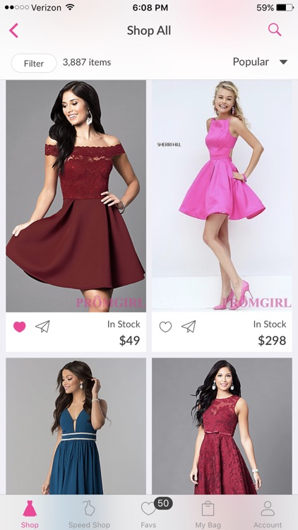 PromGirl Shop screenshot-3