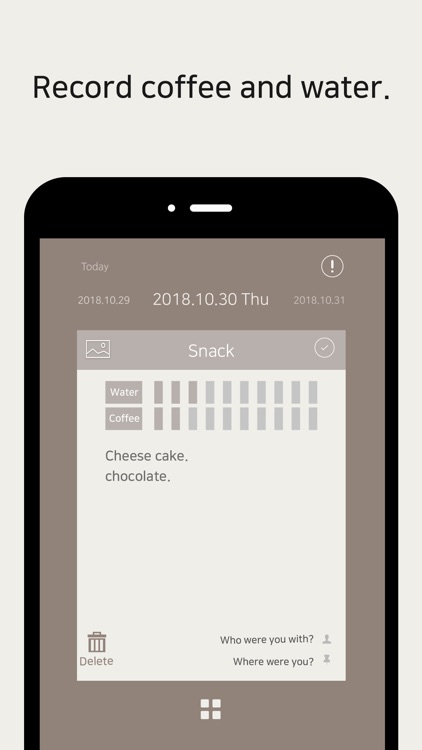 Dining Note: Simple food diary screenshot-3