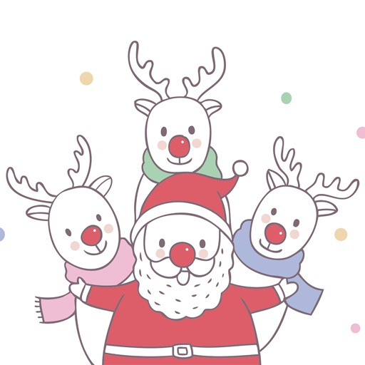 Cute Hand Drawn Christmas Pack icon