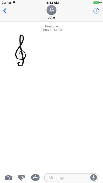 Music Notes sticker pack screenshot-4