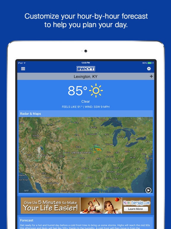 Wkyt Weather Map.Wkyt News App Price Drops