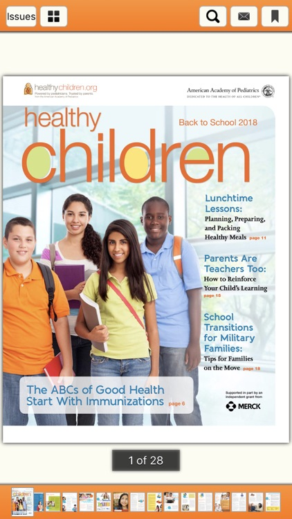 Healthy Children E-Magazine screenshot-2