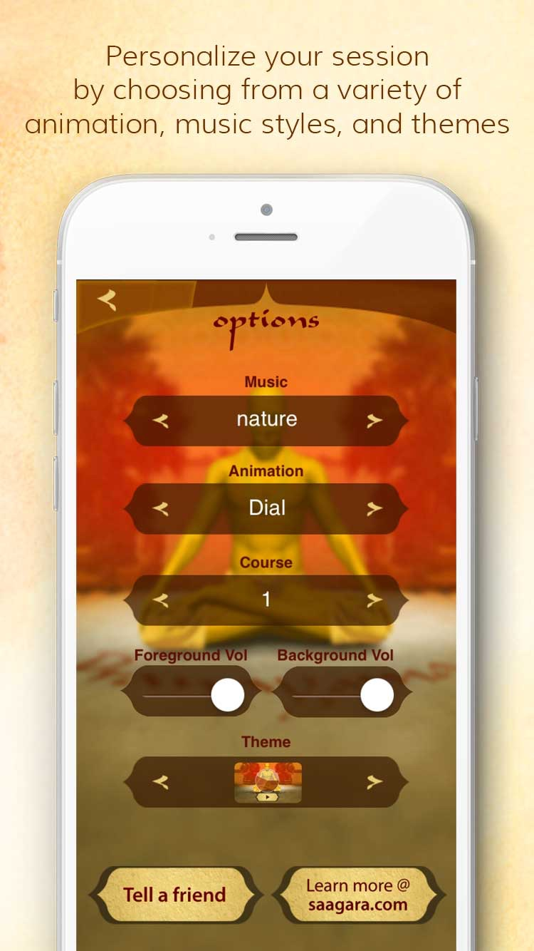 Health through Breath - Pranayama Lite Screenshot