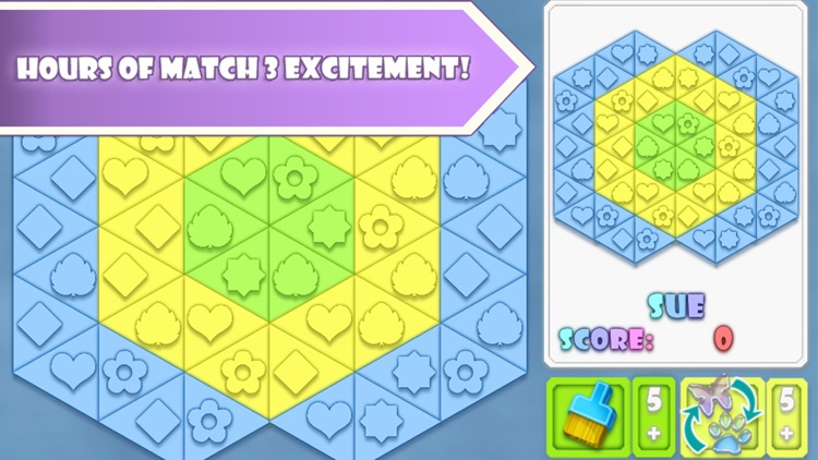 Fitz: Match 3 Puzzle Game screenshot-1