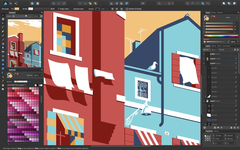 Screenshot #5 for Affinity Designer
