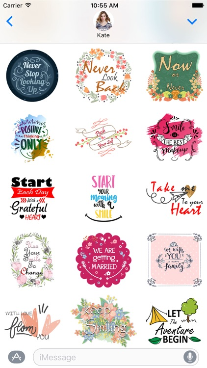 Vibes - Illustrated Stickers Pack for iMessage screenshot-3