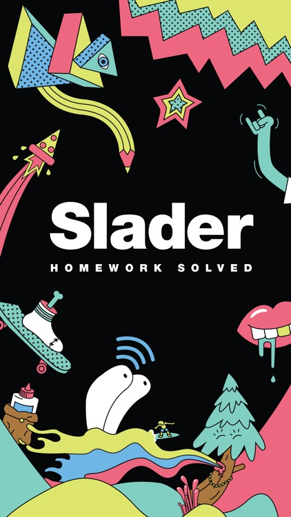 Slader Stickers!