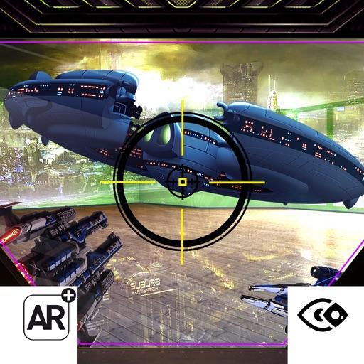 AR Spaceship Shooting Rider