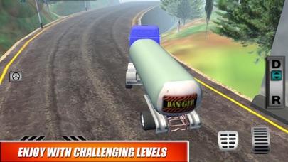 Truck Oil Climb Hill Mission screenshot 1