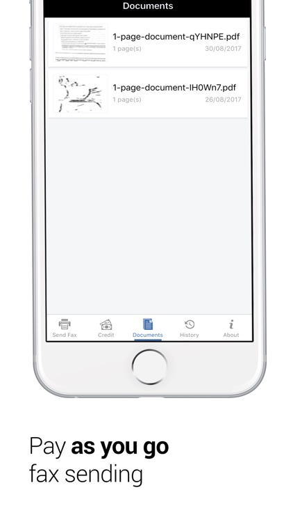 FAX App- Send FAX on iPhone screenshot-3