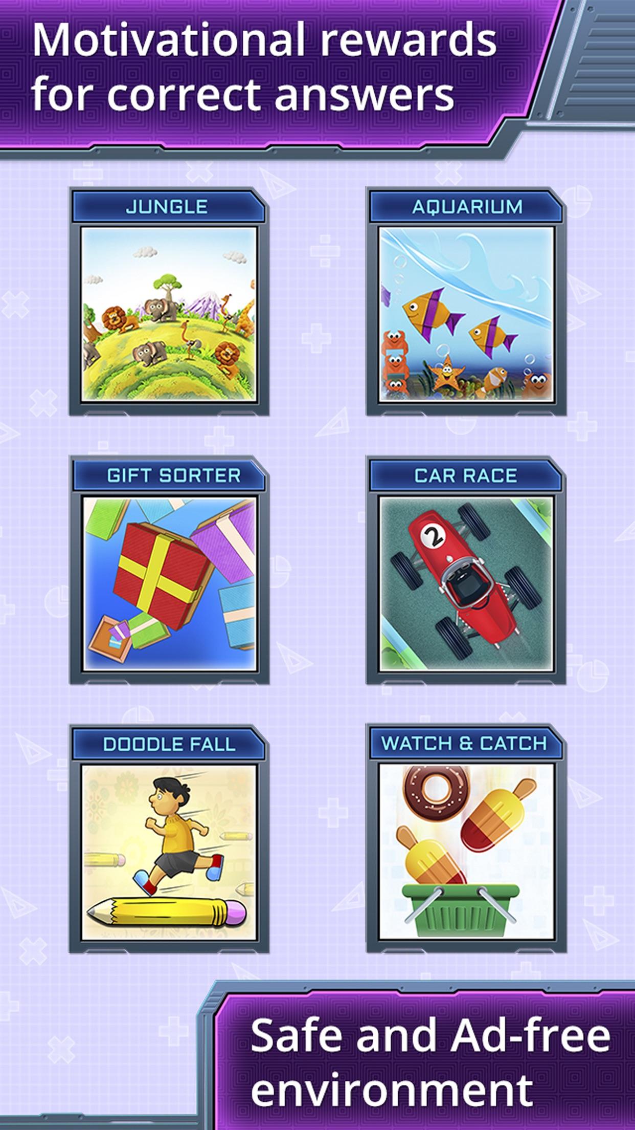 4th Grade Math Games for Kids Screenshot