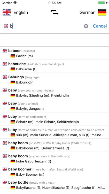 German/English Dictionary screenshot-4