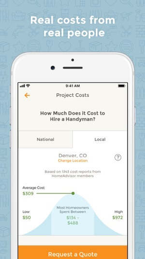 Amazing HomeAdvisor Find a Contractor on the App Store Fresh - Inspirational contractor classes New Design