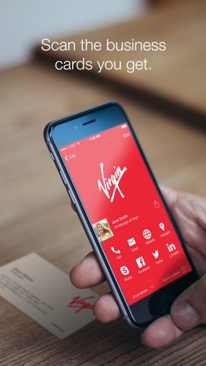 Haystack business cards on the app store reheart Gallery