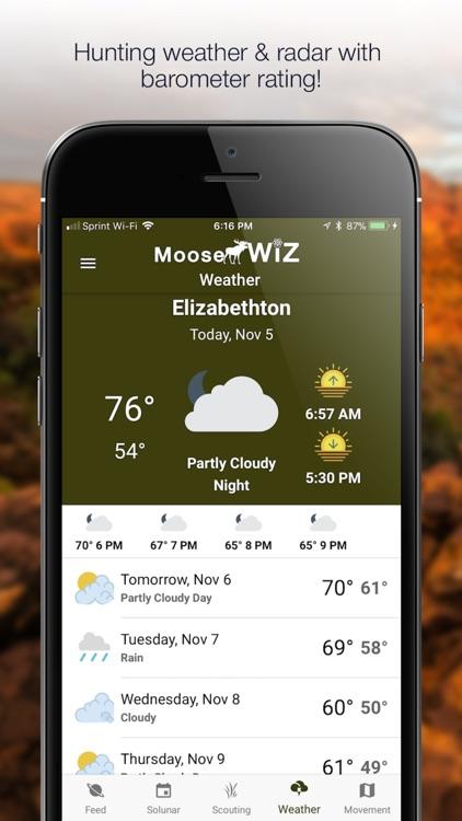 Moose Wiz: Hunting Predictions screenshot-3