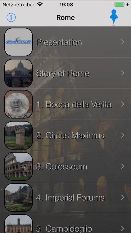 Rome Giracittà - Audioguide