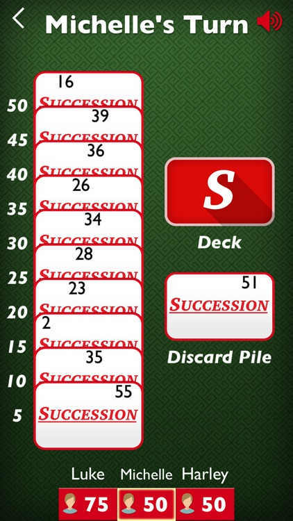 Succession - Rack-O style game
