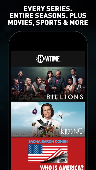 SHOWTIME: TV, Movies and More for Windows