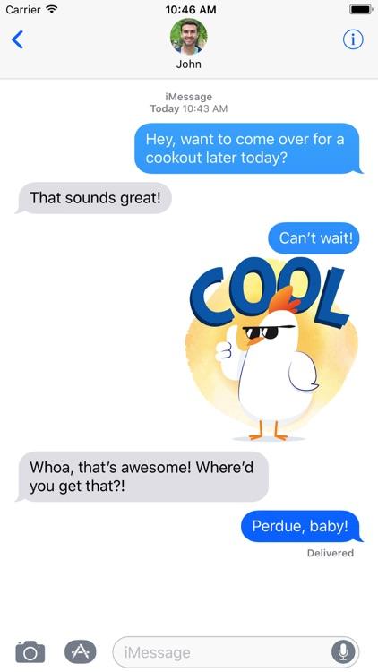 PERDUE® Chicken: Summer Chick-moji