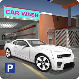 Car Service Station Parking