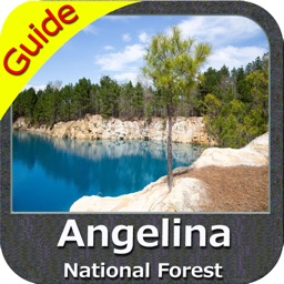 Angelina National Forest - GPS Map Navigator