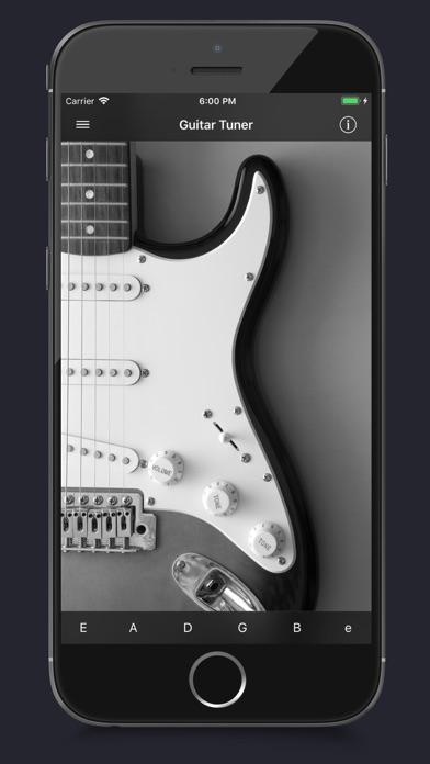 guitar tuner app voor iphone ipad en ipod touch appwereld. Black Bedroom Furniture Sets. Home Design Ideas
