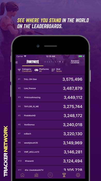 Herunterladen Tracker Network for Fortnite für Pc